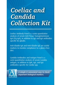 Coeliac or Candida Self Testing Kit